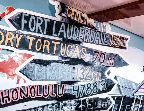 mural painted on the norwegian getaway