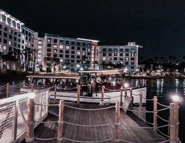Loews Sapphire Falls Water Taxi at Universal Orlando