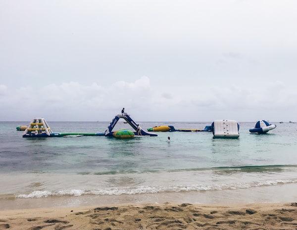 Paradise Beach Cozumel's Water Park • TastyItinerary.com