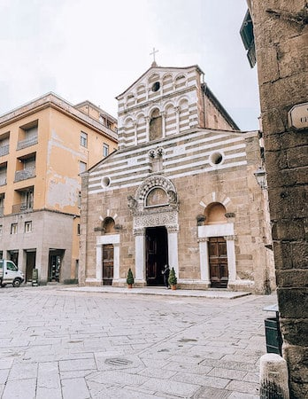 San Giusto Church Lucca Italy