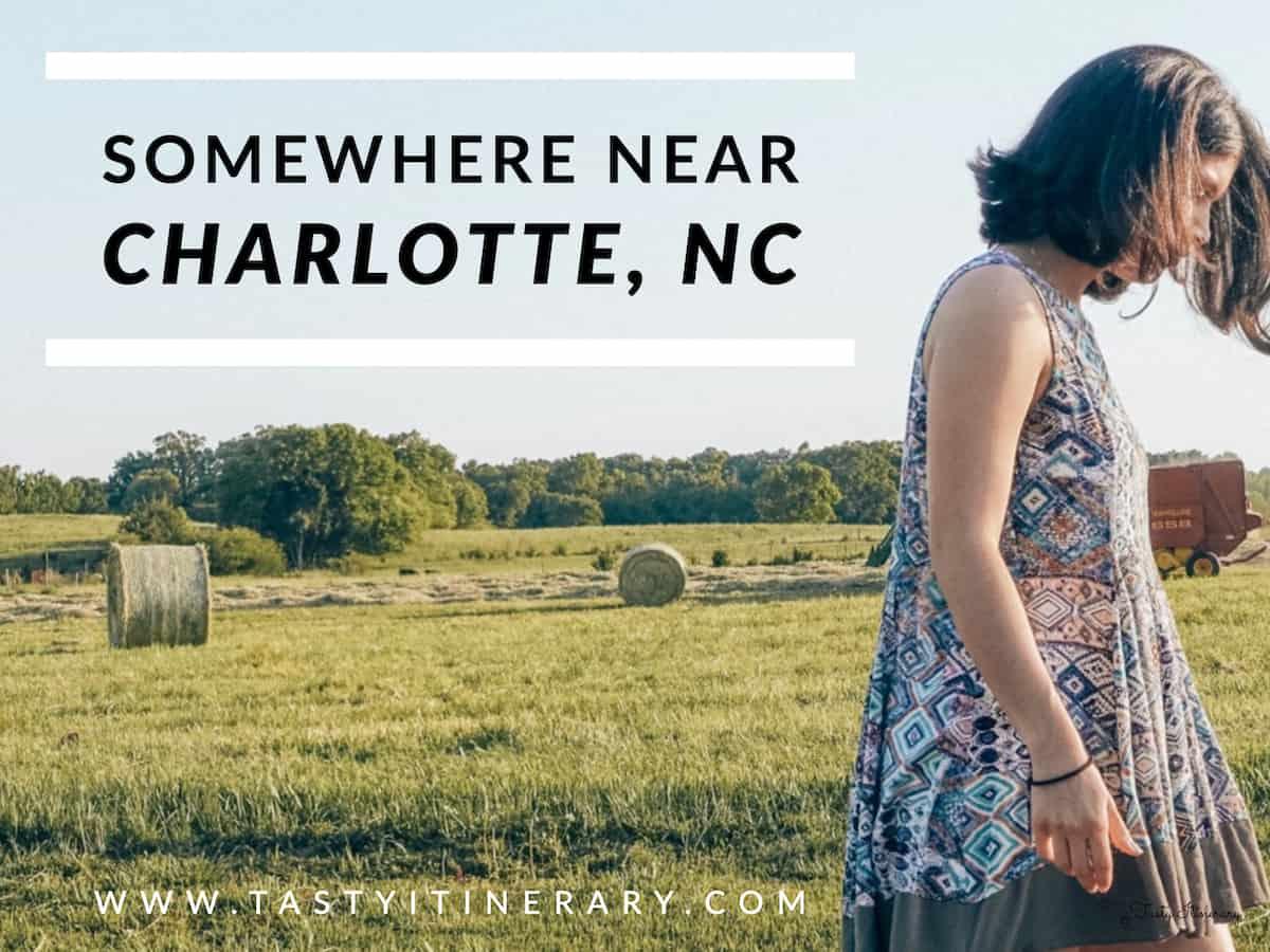 Somewhere Near Charlotte, North Carolina