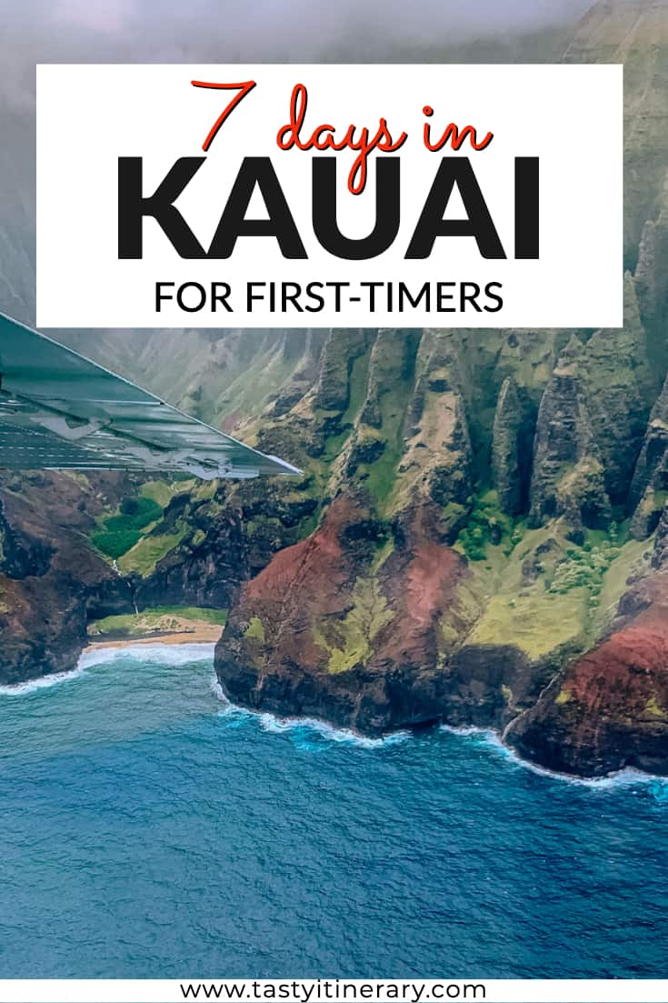 What to do in Kauai Pin for Pinterest