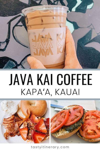 java kai coffee in kauai | pinterest marketing image