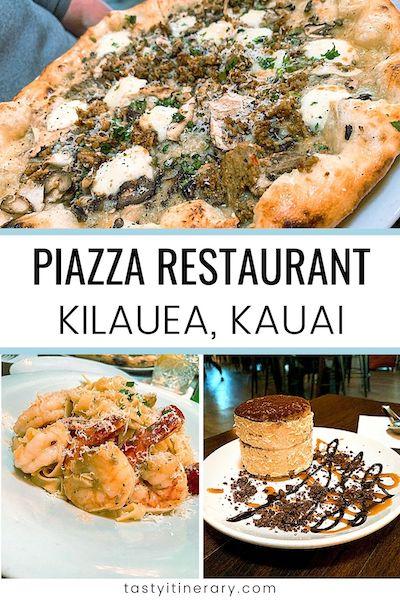 pizza dinner from Piazza restaurant | Pinterest Marketing Pin