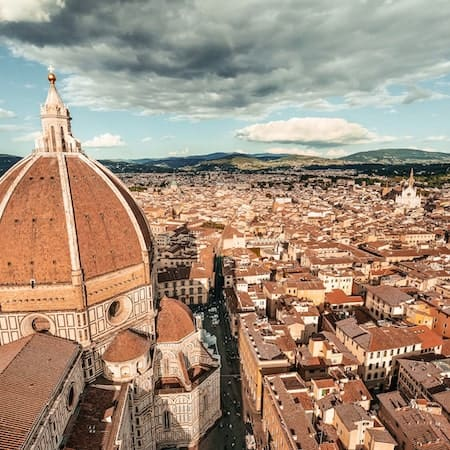 View of the city of firenze