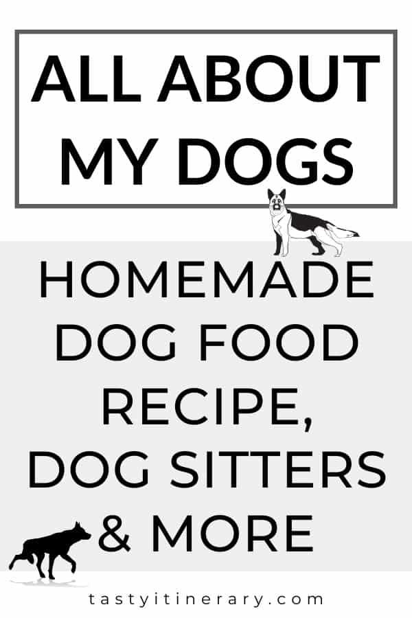 Dog Resources - homemade dog food recipe, dog sitters, dog toys
