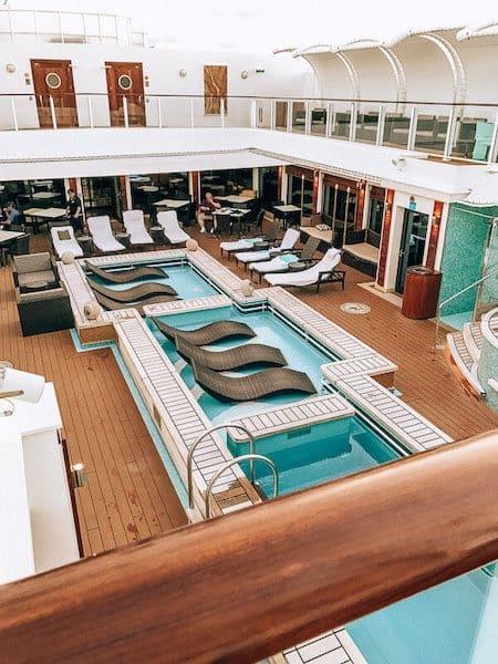 Norwegian Getaway Haven Pool Area