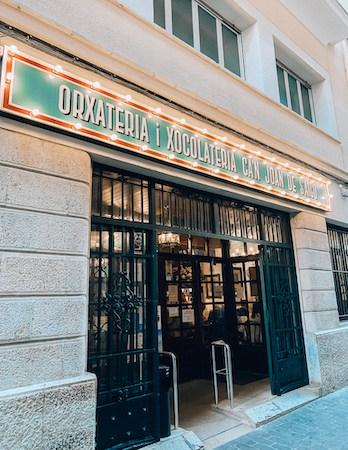 Outside of Can Joan de s'Aigo