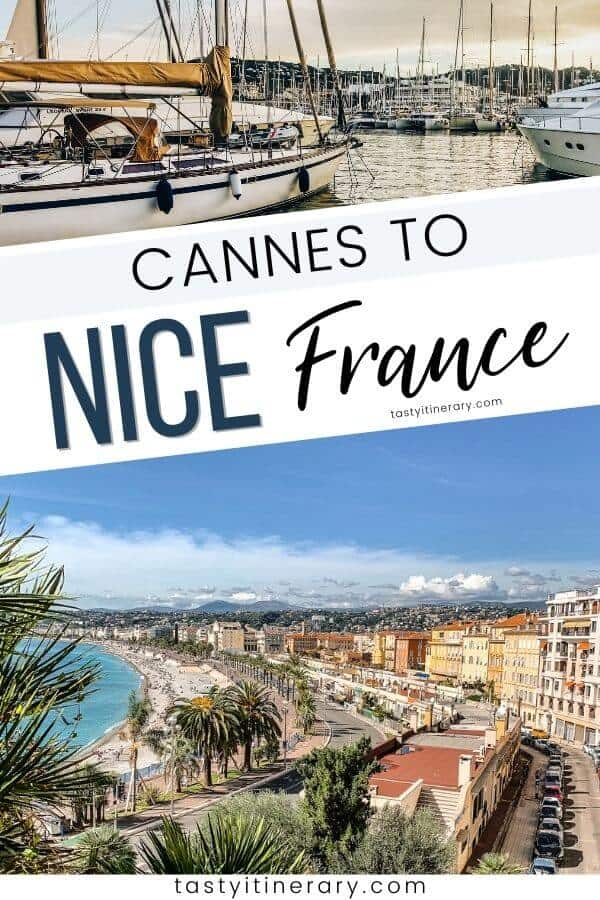 Cannes to Nice France