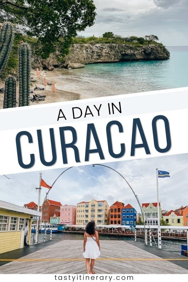 A day in Curacao | Pinterest Pin