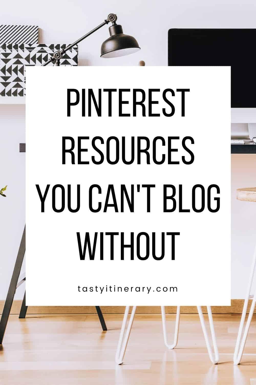 Pinterest Blog Resources - Pinterest Marketing Pin