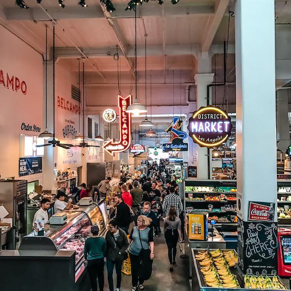 bustling grand central market