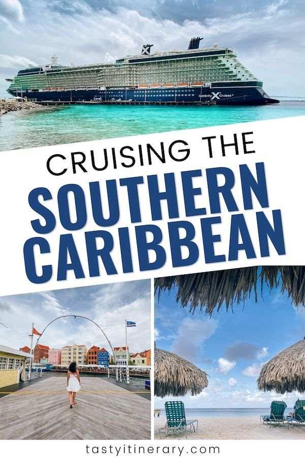 southern caribbean cruises | pinterest marketing image