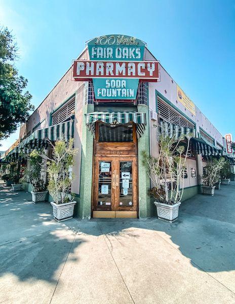 exterior of fair oaks pharmacy and soda fountain